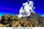 Island Volcano Eruption clipart