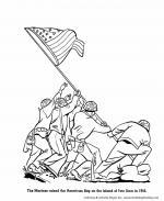 Iwo Jima coloring