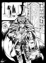 Jack The Ripper coloring