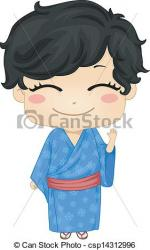 Japanese Clothes clipart