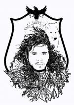 Jon Snow clipart