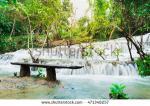 Kanchanaburi Falls coloring