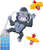 King Kong clipart