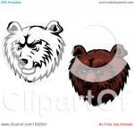 Kodiak Bear clipart