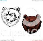 Kodiak Bear clipart