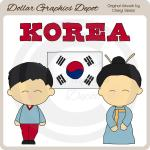 Korean clipart