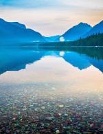 Lake McDonald clipart