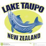 Lake Taupo clipart