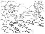 Scenery coloring