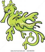 Leafy Seadragon clipart