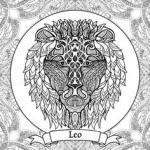 Leo (Astrology) coloring