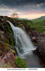 Loup Of Fintry Waterfall clipart