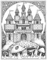 Magnificent Castle coloring