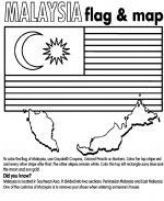 Malaysia coloring