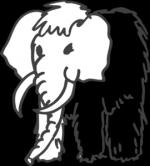 Mammoth svg
