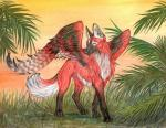 Maned Wolf coloring