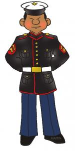 Marines clipart