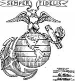 Marines coloring