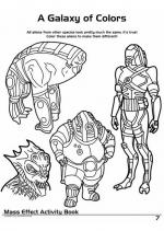 Mass Effect coloring