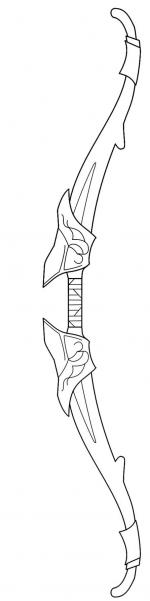 Master Sword coloring