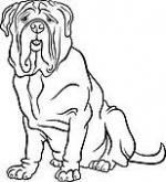 Mastiff clipart