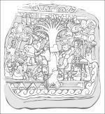 Mayan coloring