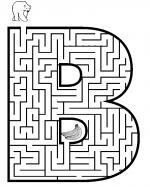 Maze coloring