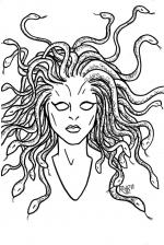 Medusa coloring