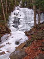 Mill Creek Waterfall svg