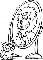 Mirror coloring