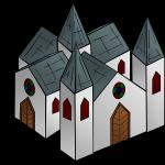Monastery clipart