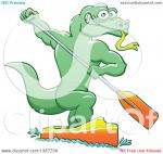 Monitor Lizard clipart