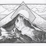 Mount Hood clipart