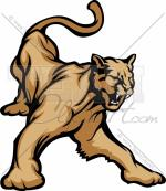 Mountain Lion clipart