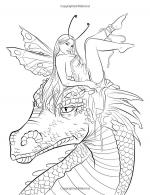 Nate Dragon coloring