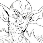 Mythlogical Creature coloring