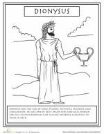 Mythology coloring