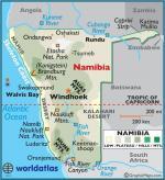 Namibia coloring
