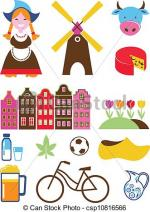 The Netherlands clipart
