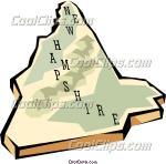 New Hampshire clipart