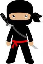 Ninjas clipart