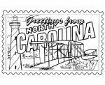 North Carolina coloring