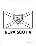 Nova Scotia coloring