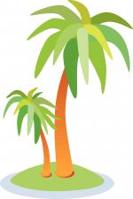 Oasis clipart