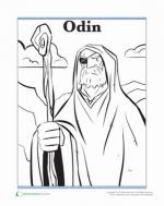 Odin coloring