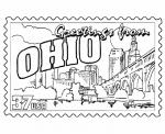 Ohio coloring