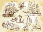 Old Sailing Ships svg