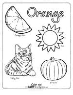 Orange coloring