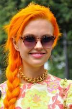 Orange Hair coloring