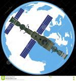 Orbital Station clipart